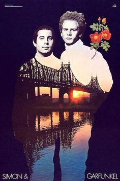 Poster from inside 1968 Simon & Garfunkel Bookends album--this was on my wall for months when I lived in Laguna Beach.