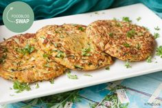 Foodblogswap - Courgette burgers