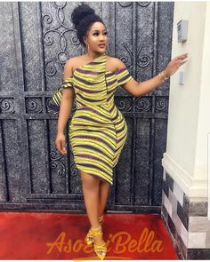 The best collection of 2018 most stylish ankara designs you've been looking for. We have them complete stylish ankara designs 2018 here Short African Dresses, Ankara Short Gown Styles, Trendy Ankara Styles, Short Gowns, African Print Dresses, Ankara Gowns, African Prints, Ankara Blouse, African Fabric