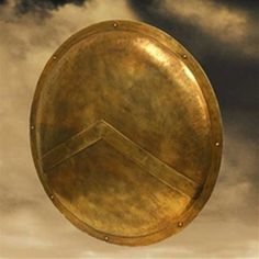 Working closely from the source material, greek costumes for sale are available from the amazing graphic novel 300, and with direct consultation with Frank Miller, we have produced this shield as he envisioned it. Protect yourself and your brother next to you, because this is Sparta! #movieprops #costumes #shield