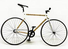 Bamboo framed bike  #bike #bamboo