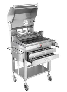 HaJaTec ® - the patented charcoal grill for gourmets. € 40,593.00....damn!!