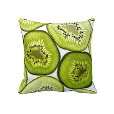 Kiwi Fruit Pillow