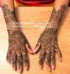 NJ's henna art