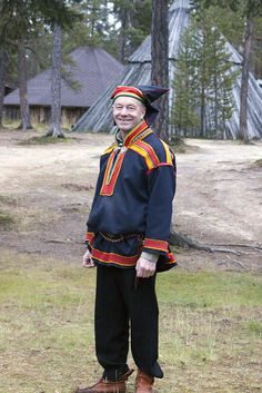 Sami man @ reindeer Farm, Inari, Finnish Lapland // photo by Mickey Bo