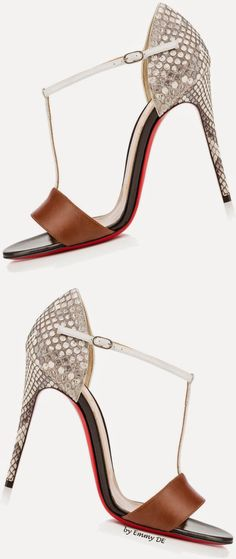 Brilliant Luxury by Emmy DE * Christian Louboutin 'True Blue'