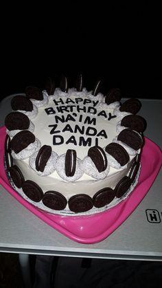 My oreo cake made under pressure...lol