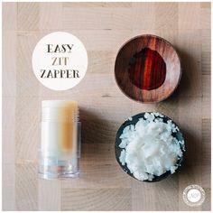 Keep your skin calm and clear all winter long with this Easy Zit Zapper recipe!