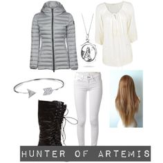 PJO and HoO Hunter of Artemis by gubbles on Polyvore featuring polyvore fashion style Monsoon Colmar rag & bone Bling Jewelry