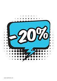 20% Descuento #Rebajas #Descuento