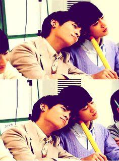 Jonghyun and Minho