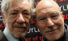 Pin for Later: 15 Glorious Pics That Prove Patrick Stewart and Ian McKellen Are Soul Mates After all, with a friend like this by your side, wouldn't you feel the same?