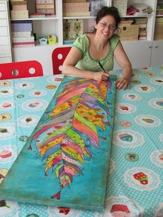 Mixed Media Art Ideas Projects Collage 20 New Ideas Fabric Painting, Fabric Art, Mixed Media Canvas, Mixed Media Art, Art Fantaisiste, Wal Art, Posca Art, Art Diy, Whimsical Art