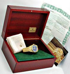Foto 5, Rolex Day Date Automatik Diamant-Ziffern Geprüft Neuw.!, U1944