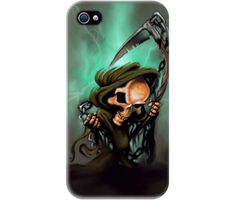 "Wrappz (iPhone 4 & 4S Case) ""Artist Little Horror"" available on: http://simplecastle.com/product-details.asp?id=996"