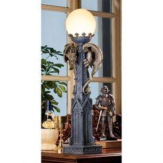 Design Toscano Prometheus Sculptural Floor Lamp White Torchiere Floor Lamp Floor Lamp Sculpture