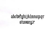 Tipografía I Caligrafía