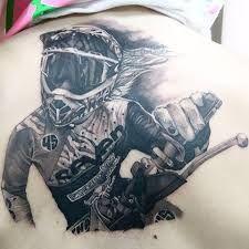Znalezione obrazy dla zapytania tattoo motocross