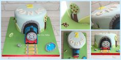 Thomas the Tank Engine cake  *all handmade with edible print face*