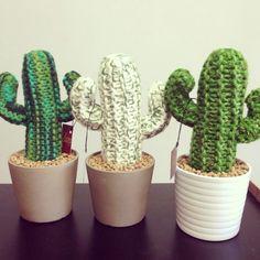 the Zozo Handmade hand-knitted Texas cactus.