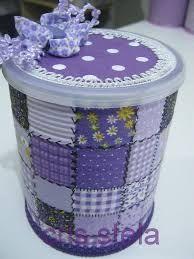 Resultado de imagen para lata de leite decorada para aniversario