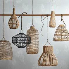 898 mentions J'aime, 14 commentaires - Temple & Webster (Temple & Webster) sur. Pendant Lighting Bedroom, Interior Lighting, Pendant Lights, Pendant Lamp, Bar Deco, Rattan Lamp, Bamboo Lamps, Basket Lighting, Lighting Ideas