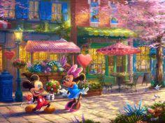 Mickey and Minnie-Sweetheart Café