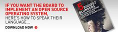 [POLL] Key Mistakes you can make when Persuading the Board that Open Source is right for your Organisation