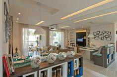 Soluções criativas foram adotadas pela designer Adriana Fontana em apartamento pequeno, de 55 m², em São Paulo