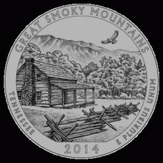 U.S. Mint to Release Quarter of Great Smoky Mountains National Park - In 2010, the United States Mint began issuing 56 quarters, each featuring designs of the national parks and other national sites. To read about the Great Smoky Mountains quarter Click the Pin!
