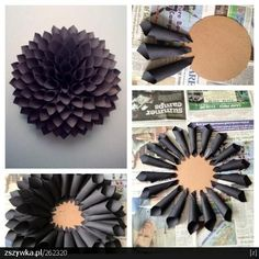 Big wall flower idea: Blank link but picture tells story