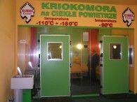 (PL) Kriokomora KrioSystem Prywatnej Klinice Rehabilitacyjnej, Krojanty, Polska