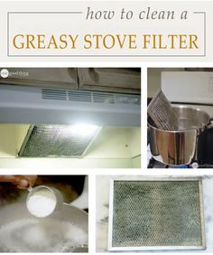 DIY: Stove Hood Cleaning