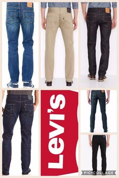 Levis 511 Slim Fit Stretch Jeans All Sizes ALL Colors Mens NWT Authentic