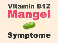 Symptome bei Vitamin B12-Mangel