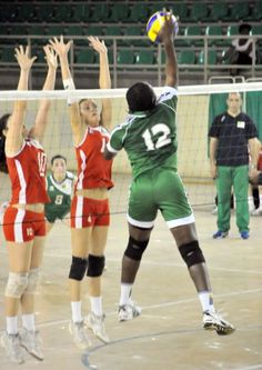 National Beach Volleyball Nigeria Ondo And Sport Volley Ball Volleyball Team Women Volleyball Volleyball