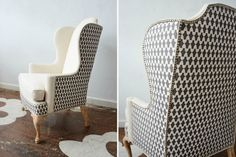 One Chair, Two Different Fabrics - Driven by Decor