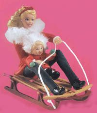 2000 Winter Fun Barbie Ornament