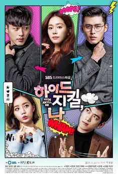 "Hyde, Jekyll and I (하이드 지킬, 나) Korean - Drama - I stuck with this one to the bitter end. But it was in a word ""BORING"". I love Hyun Bin but even he couldn't save this drama."