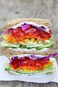 23 Veggie-Friendly Sandwiches To Make This Week