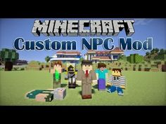 Custom NPC Mod - Charaktere, Waffen, Kleidung! - Minecraft Mod Review [DE] [HD] - YouTube Minecraft Mods, Mini Games, Facebook, Youtube, Weapons, Kleding, Crafting, Youtubers, Youtube Movies