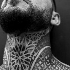 125 Top Neck Tattoo Designs This Year Wild Tattoo Art Back Of Neck Tattoo Men, Full Neck Tattoos, Sleeve Tattoos, Chest Piece Tattoos, Pieces Tattoo, Chest Tattoo, Pocket Watch Tattoos, Hals Tattoo Mann, Throat Tattoo
