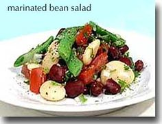 Marinated Bean Salad -   This is a great dish to add to your Healthiest Way of Eating because you can keep in your refrigerator for 3-4 days and its flavor gets better each day! Prep and Cook Time: 25 minutes