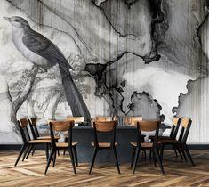 Modern Wallpaper Designs, Designer Wallpaper, Black And White Wallpaper, Wallpapers, Painting, Art, Art Background, Painting Art, Kunst