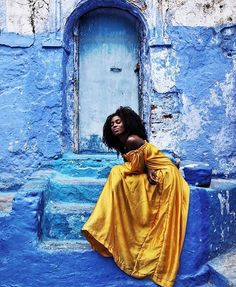 If ever there was a time to follow your passion, and do something that matters to you—now is certainly the time. #travelnoire #chefchaouen