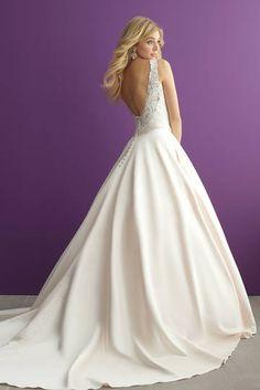 Wedding dresses, Allure Romance, bridal designer, 2951