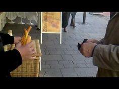 Der Hofer Wärschtlamo in Aktion - Ein echtes Original in Hof/Saale - YouTube