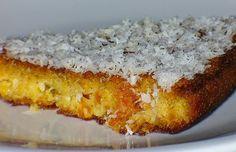 Street Food, Cuisine du Monde: Recette de gâteau au manioc et noix de coco, sans gluten (Bahia, Brésil)