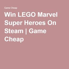 Win LEGO Marvel Super Heroes On Steam   Game Cheap