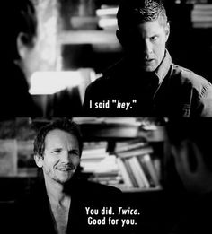 "Supernatural 6.15 ""The French Mistake"" The love I have for Balthazar is crazy."